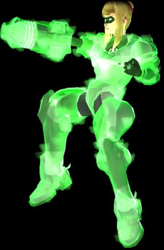 GreenLanternSamus